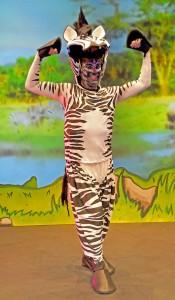 Charlie Guest as Zalika the Zebra